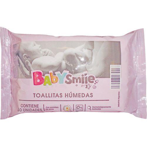 TOALLA-HUMEDA-BEBE-BABY-SMILE-FLOW-PACK-50UD
