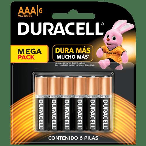PILAS-ALCALINAS-AAA-X6-DURACEL