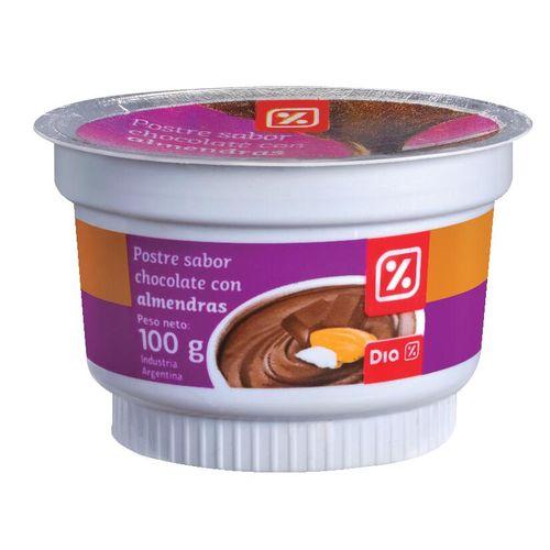 POSTRE-DE-CHOCOLATE-CON-ALMENDRAS-DIA-100-GR