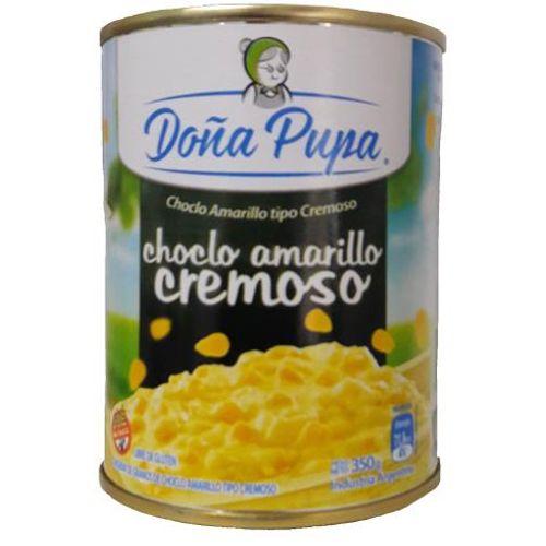 DOÑA PUPA CHOCLO CREMOSO AMARILLO TETRA RECART X 340 GR