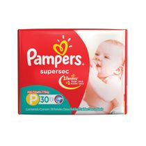 PAÑALES-SUPERSEC-PEQ-PAMPERS-30-UD