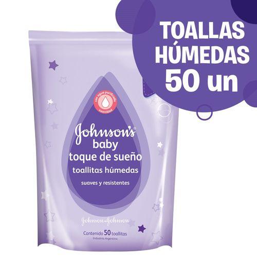 TOALLITAS-HUMEDAS-PBEBE-JOHNSON-S-BABY-TOQUE-DE-SUEÑOS-50UD