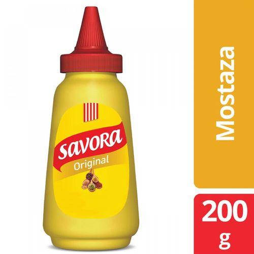 MOSTAZA-SAVORA-200GR