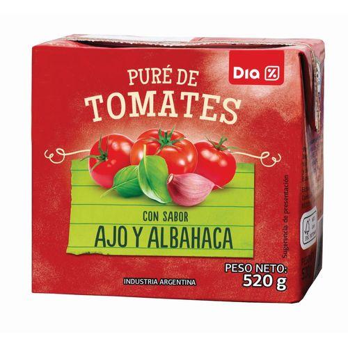 PURE-DE-TOMATE-SABOR-ALBAHACA-Y-AJO-DIA-520-G