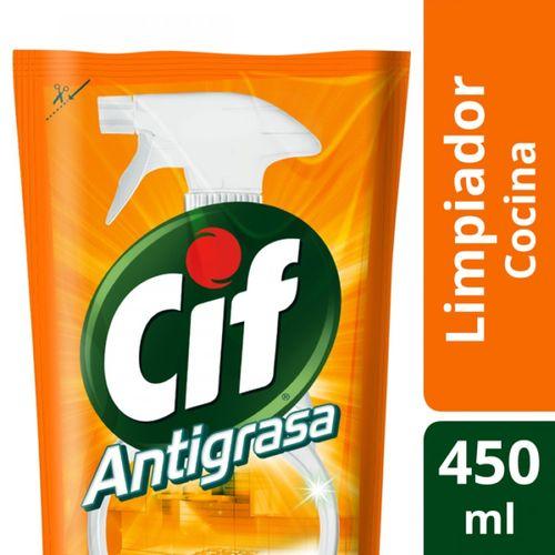 LIMPIADOR-ANTIGRASA-REPUESTO-ECONOMICO-CIF-450ML