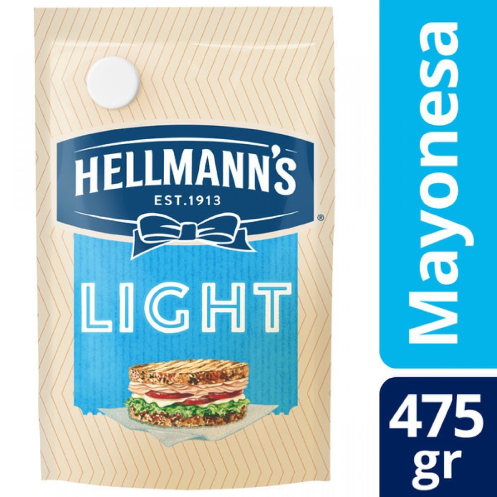 Mayonesa light Hellmann 475 grs
