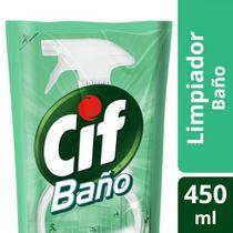 LIMPIADOR-BAÑO-REPUESTO-ECONOMICO-DOYPACK-CIF-450ML