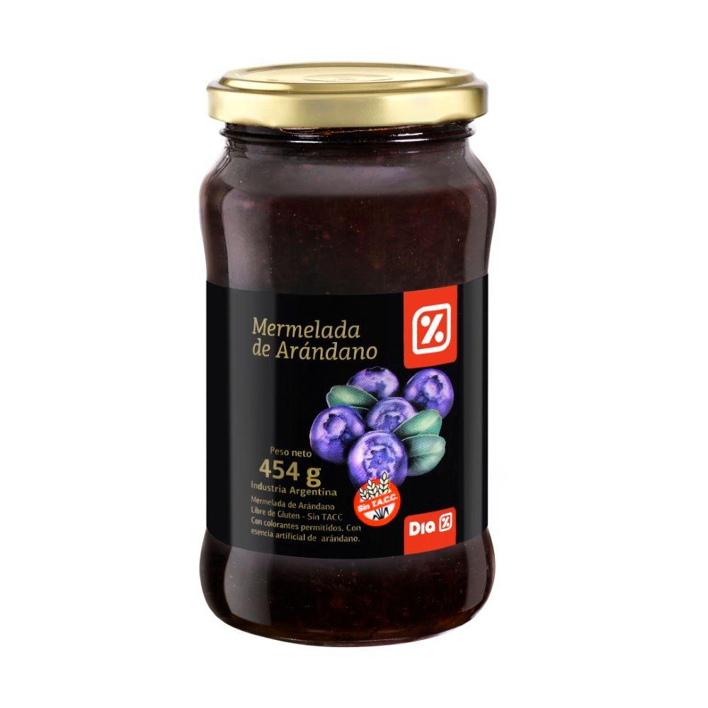 como hacer mermelada de arandanos rojos