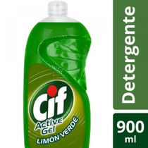 LAVAVAJILLAS-ACTIVE-GEL-ENJUAGUE-FACIL-LIMON-VERDE-CIF-X-900ML