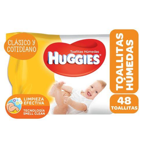 TOALLITAS-HUMEDAS-PBEBES-HUGGIES-CLASICO-Y-COTIDIANO-48-UNID