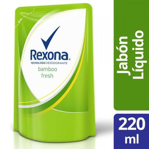 JABON-LIQUIDO-REXONA-BAMBOO-FRESH-DOYPACK-220ML