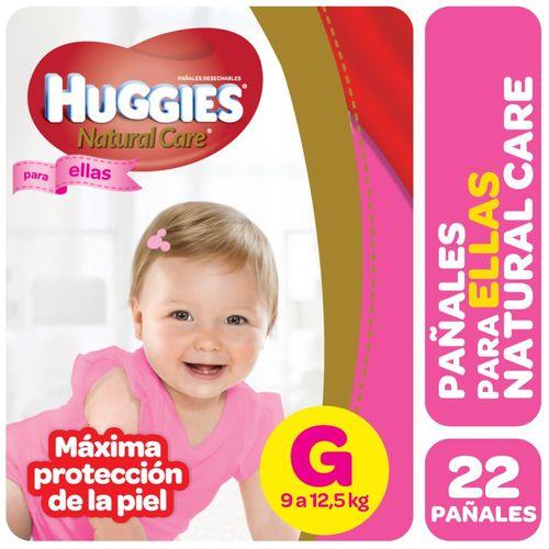 PAÑALES-HUGGIES-NATURAL-CARE-PELLAS-G-22UD