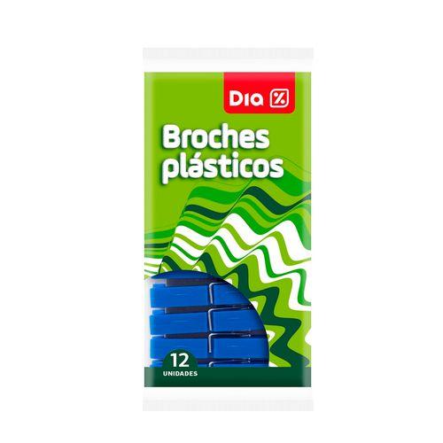 BROCHES-PLASTICO-----DIA---12UD