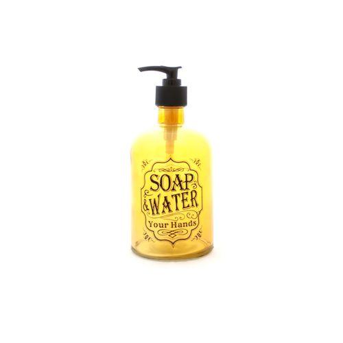 DISPENSER-DE-VIDRIO-SOAP-HANDS-AMBAR