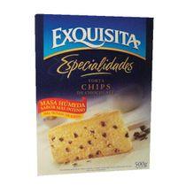 POLVO-PARA-PREPARAR-TORTA-DE-VAINILLA-CCHIPS-DE-CHOCOLATE-EXQUISITA-500GR