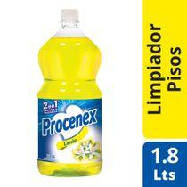 Limpiador-Liquido-Pisos-Procenex-2-en-1-Limon-18-lts