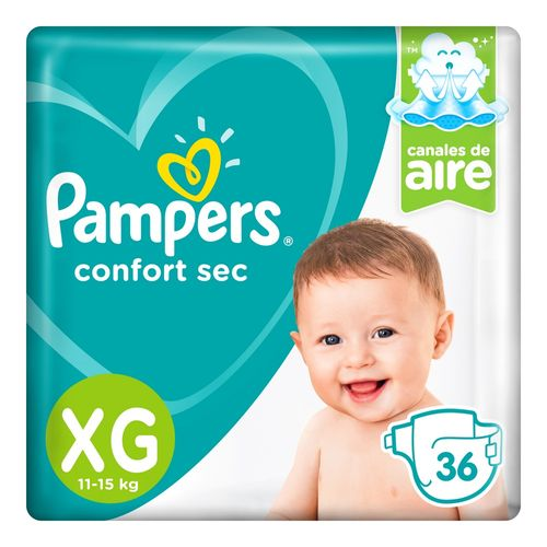 Pampers-Confort-Sec-Pañales-XG-36-Unidades