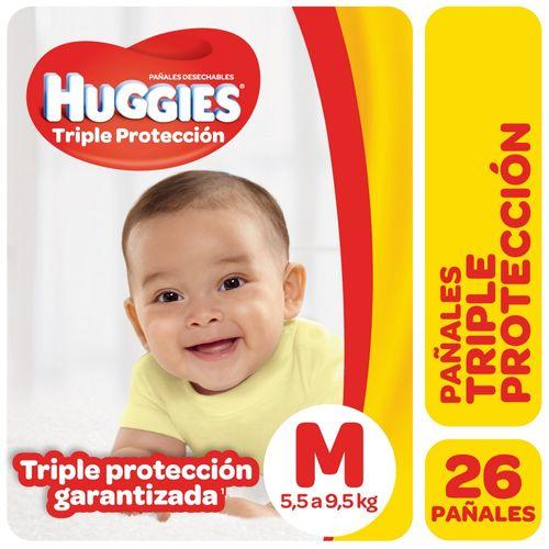 PAÑAL-CLASSIC-PLUG-MEGA-MEDIANO-HUGGIES-CLASSIC-26UD