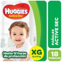 PAÑALES-HUGGIES-ACTIVE-SEC-MEGAPACK--XG-18UD