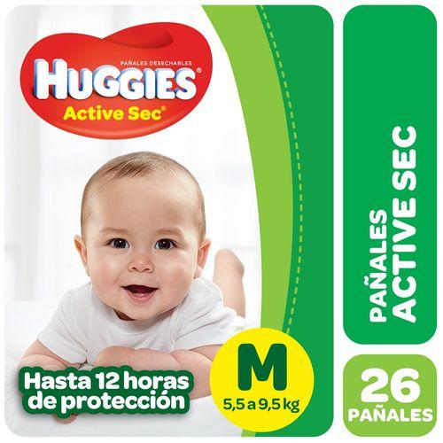 PAÑALES-ACTIVE-SEC-MED-MEGAPACK-HUGGIES-26UD