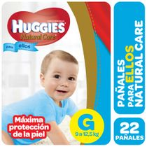 PAÑALES-HUGGIES-NATURAL-CARE-PELLOS-G-22UD