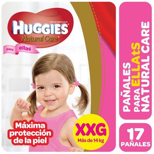 PAÑALES-HUGGIES-NATURAL-CARE-PELLAS-XXG-17UD