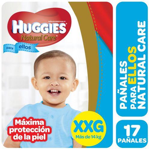 PAÑALES-HUGGIES-NATURAL-CARE-PELLOS-XXG-17UD
