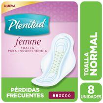 TOALLA-FEMENINA-INCONTINENCIA-NORMAL-CON-ALAS-PLENITUDAD-POISE-8UD
