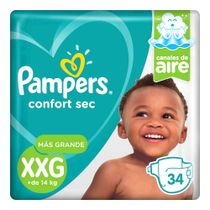 Pampers-Confort-Sec-XXG-Pañales-34-Unidades