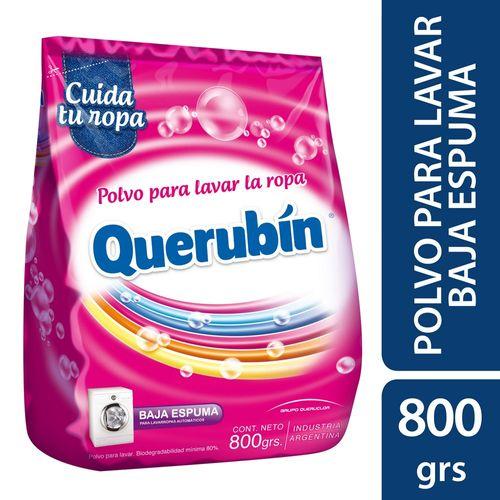 JABON-EN-POLVO-BAJA-ESPUMA-QUERUBIN-800GR