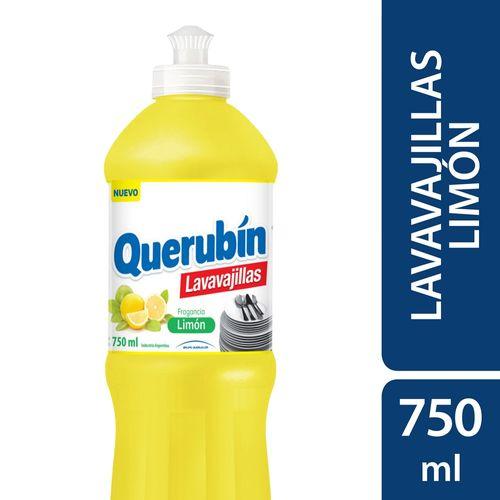 LAVAVAJILLAS-LIMON-QUERUBIN-750ML