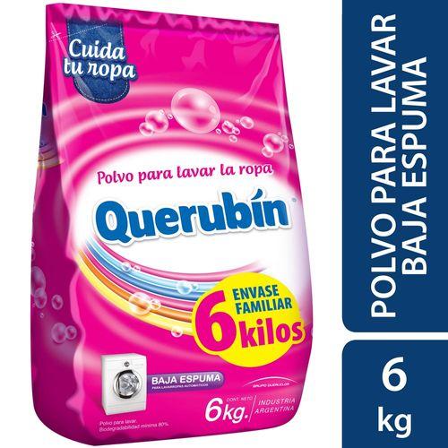 DETERGENTE-EN-POLVO-BAJA-ESPUMA-QUERUBIN-6KG