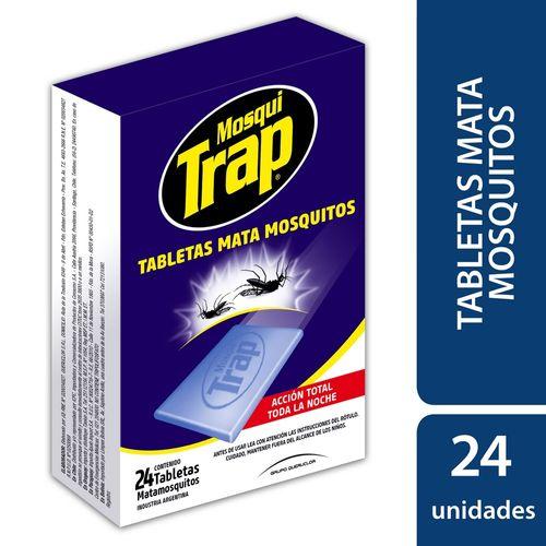 TABLETA-MATA-MOSQUITO-MOSQUITRAP-24UD
