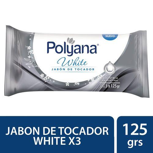JABON-DE-TOCADOR-POLYANA-WHITE-3X125-GR