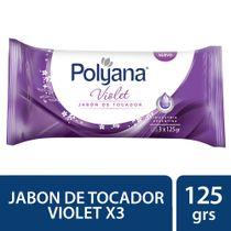 JABON-TOCADOR-VIOLET-POLYANA-3X125GR