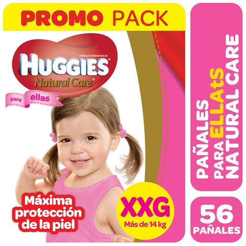 PAÑALES-NATU-CARE-XXG-ELLAS-HUGGIES-56UD