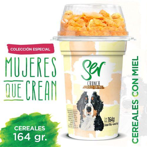YOG-DES-CEREAL-MIEL-SER-164-GR