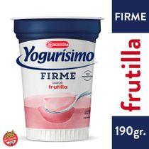 Yogur Yogurisimo firme frutilla 190 grs