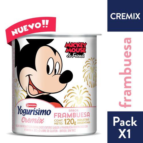 YOGURISIMO-CREMIX-FRAMBUESA-120GR