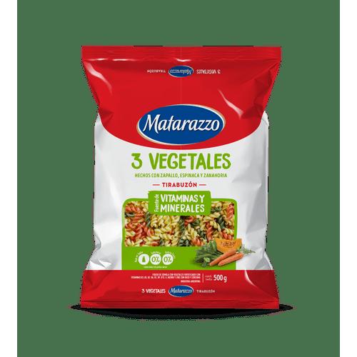 Tirabuzon-3-Vegetales-Matarazzo-500-Gr