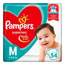 PAÑALES-PAMPERS-SUPERSEC-MEDIANOS-54UD