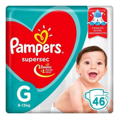 PAÑALES-PAMPERS-SUPERSEC-G-46UD