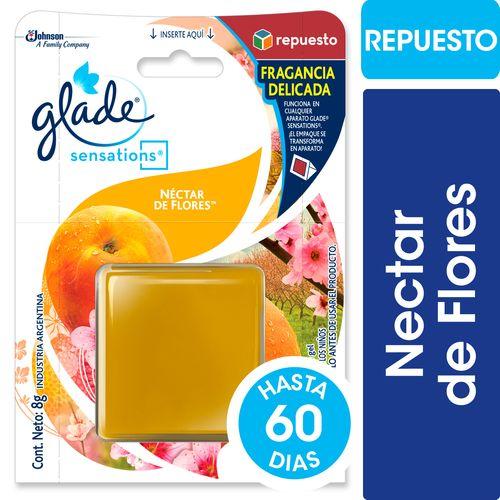 REPUESTO-DESODORANTE-DE-AMBIENTE-NECTAR-DE-FLORES-GLADE-8-GRS--SENSATIONS