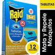 TABLETA-MATA-MOSQUITOS-RAID-12UD