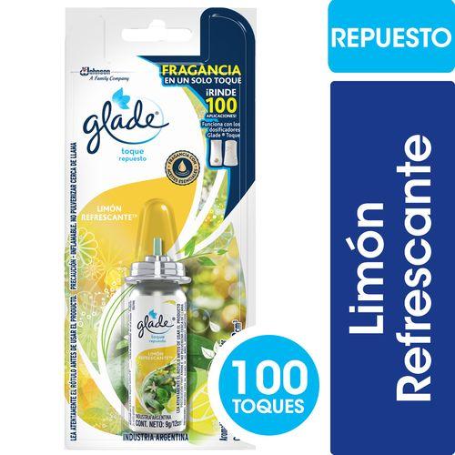 DESODORANTE-DE-AMBIENTES-GLADE-TOQUE-REPUESTO-LIMON-REFRESCANTE-9GR