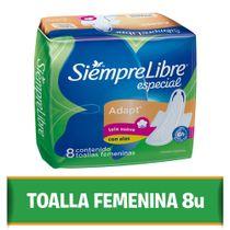TOALLAS-FEMENINAS-SIEMPRE-LIBRE-ESPECIAL-8UD