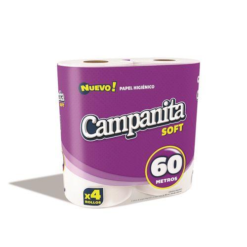 PAPEL-HIGIENICO-CAMPANITA-SOFT-4x60M