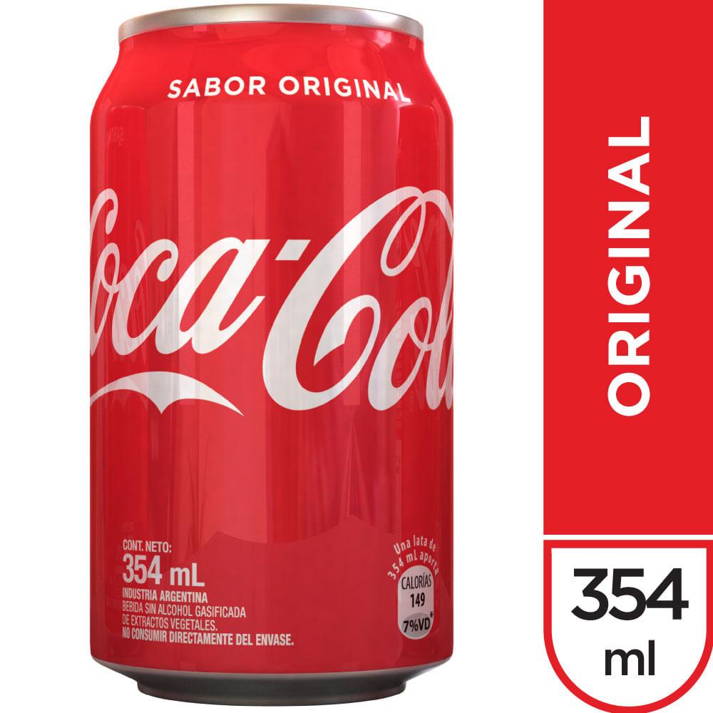 Cola Online MlDia Coca Sabor Lata Original Gaseosa 354 FKJ1lcT