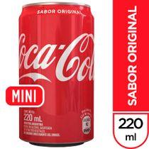 Gaseosa-CocaCola-Sabor-Original-Minilata-220-ml