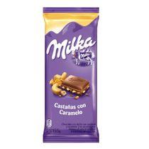 TABLETA-CHOCOLATE-CASTAÑA-CON-CARAMELO-MILKA-X155GR